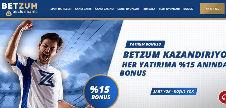 Betzum giriş bonusları ve ödülleri