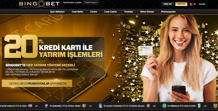 Bingobet giriş sayfası ekran görüntüsü