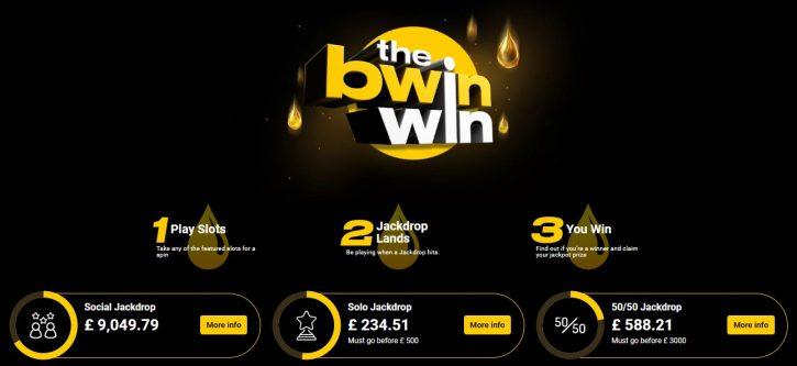 Bwin giriş ödülü reklamı