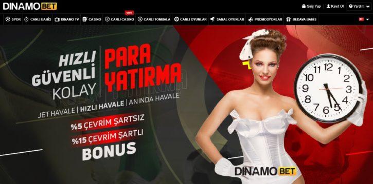 Dinamobet giriş sayfası