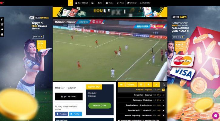 Vevobahis TV resmi sitesi